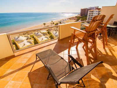 Photo for Spectacular 2 Bedroom Condo on Sandy Beach at Las Palmas Resort B-704