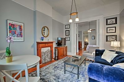 This vacation rental is the ideal home base after a day exploring New Orleans!