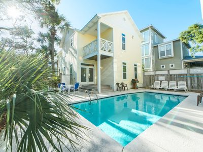 Photo for 5BR Brzee Bungalow☀Oct 18 to 20 $1435 Total!☀2 Houses w/PRIVATE Pool- Walk2Beach