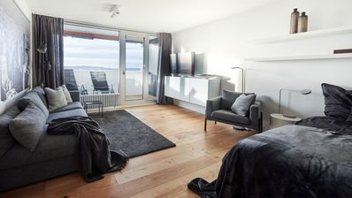 Photo for 7 floor, 2 room apartment, bright and comfortable!