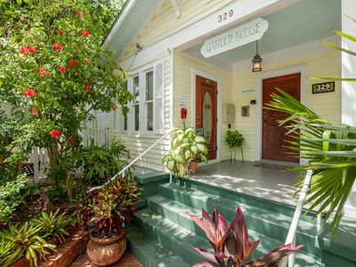 Photo for Plan for a romantic escape at this adorable rental w/ shared pool and courtyard
