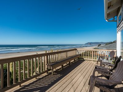 Photo for Oceanfront, Spacious Deck, Haystack Views, 2 King Beds! 4th of July Avail!