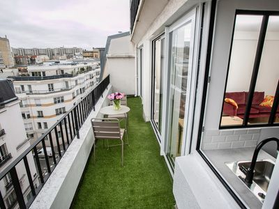Photo for CHARMING SUNNY APARTMENT, QUIET WITH TERRACE