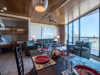 Photo for 1BR / 1BA 2nd floor condo, 2 shared pools and gulf view