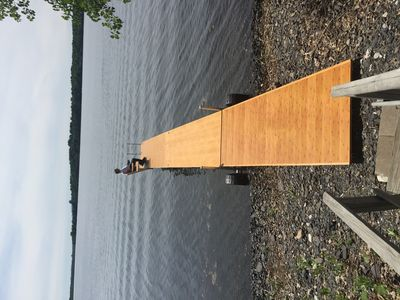 Photo for Cottage on Lake Champlain with Westerly views near Dunes State Park