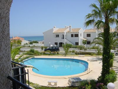 Photo for Cabo Roig, Orihuela Costa directly beach, La Zenia, pool, parking, balcony, TOP