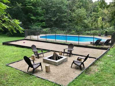 Photo for 90 Min Chicago ,Modern Tranquility Near New Buffalo,Lake Michigan, Pool/Privacy