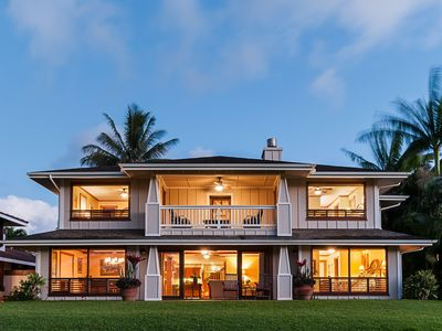 Photo for Exquisite Craftsman Style Home on The Makai. Relax in Luxury. Private pool/spa.