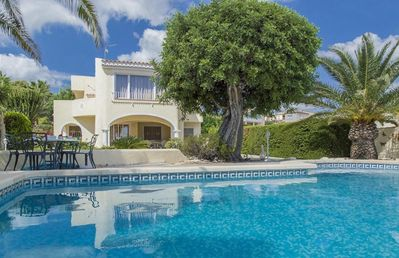 Photo for ALTAMIRA, villa with private pool in Calpe, for 4 guests, free wifi