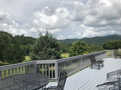Photo for Beautiful views of mountains on 100 acres