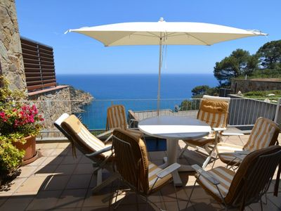 Photo for Club Villamar - Great 5 bed villa with balcony only 350m from the beach on the beautiful Costa Br...
