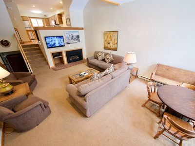 Photo for Welcoming Ski in/ Ski out Cedars Townhouse in Breck-Short Walk to Main St.