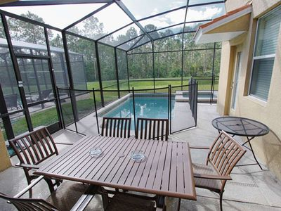 Photo for Near Disney World - Paradise Palms Resort - Welcome To Cozy 5 Beds 5 Baths  Pool Villa - 4 Miles To Disney