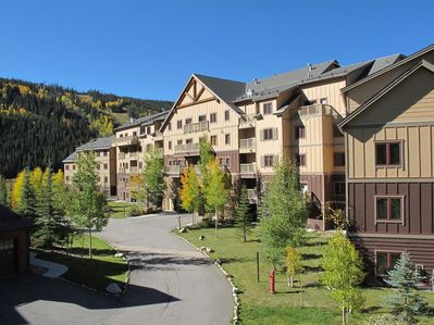 Red Hawk Lodge (in River Run Village near the gondola and resort activities)