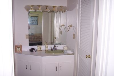 Master bathroom, walk in closet to the right, left is a separate full bath