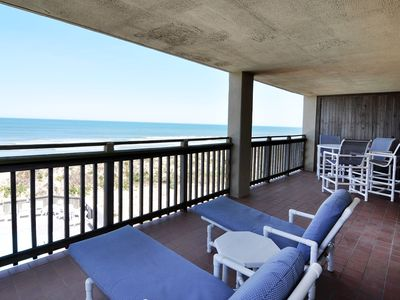 Photo for Heron Cove 304S: Sunrises and Sunsets from this Ocreanfront Top Floor Condo