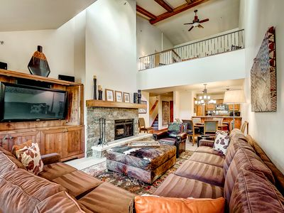 Photo for Ski-in/out Kiva at Beaver Creek, Wood Fireplace, Pool, Hot Tub, Fire Pit