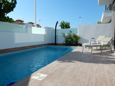 Photo for Relax in luxury near the Mar Menor - Villa 6 persons with private pool.