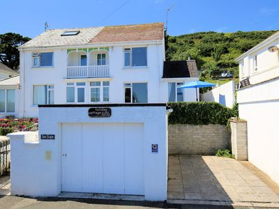 Photo for Spacious Holiday Home By The Beach At Looe, Cornwall - With Great Sea Views