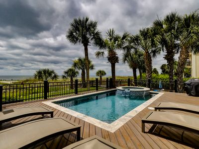 Photo for Stunningly remodeled oceanfront home with private pool!