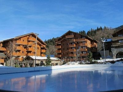 Photo for LUXURY RESIDENCE 2 BEDROOM, POOL,GYM,SPA,800M TO SKI, CENTRAL LOCATION