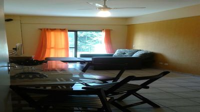 Photo for Furnished apt, well located, near the beach, terrace, pool and barbecue grills