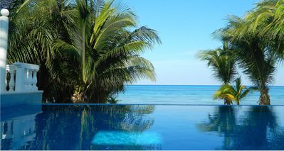 Infinity Pool over the Caribbean
