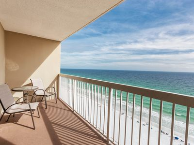 Photo for High-rise condo w/ocean views, community pool and private balcony