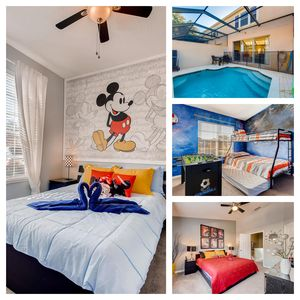 Photo for NEW LISTING! RENOVATED pool home with themed rooms Kids will LOVE 3miles2 Disney