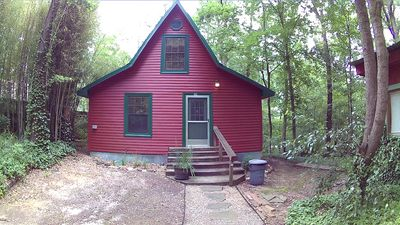 Caddo River Crossing Cabin F - River view and acccess