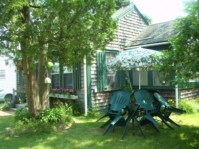 Photo for Charming cottage of yesteryear at Goose Rocks Beach