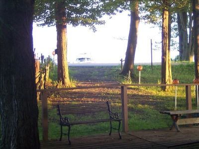 Lake view from Cottage deck