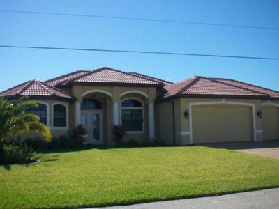 Photo for Sensation - Gorgeous Sailboat Access Home with South Facing Pool Area