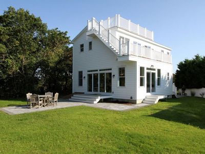 Photo for All Decked Out! Perfect Beach house-beautiful views-pet friendly-Central air-sleeps 10!