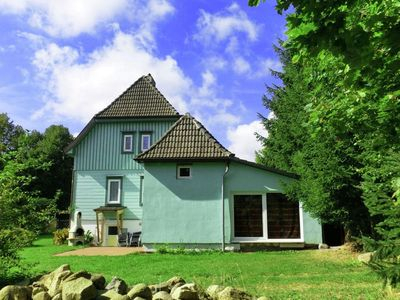 Photo for Luxury holiday home in Harz region in Elend health resort with private indoor pool and sauna
