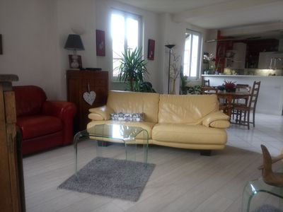 Photo for Cottage 12 people, village house Belledonne, ski resort Les 7 Laux