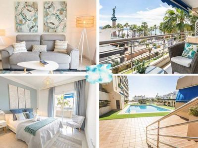 Photo for Marina De Banus 2BD Beach Retreat & Sea View Terrace✔