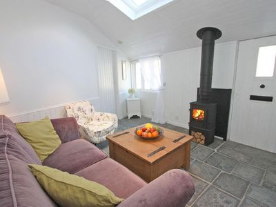 Photo for SMUGGLERS COTTAGE, with open fire in Tintagel, Ref 959566