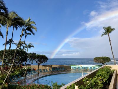 Photo for Ocean Front, 1 BR Condo at Royal Kahana in Lahaina