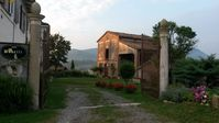 Quaint house and grounds in rural italy
