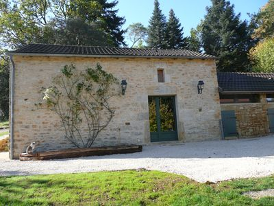 Photo for Charming renovated bakehouse near Daglan, Perigord Noir