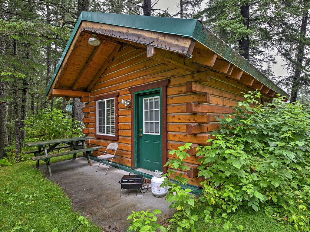 camping cabins alaska tongass rentals activity cabin national recreation forest