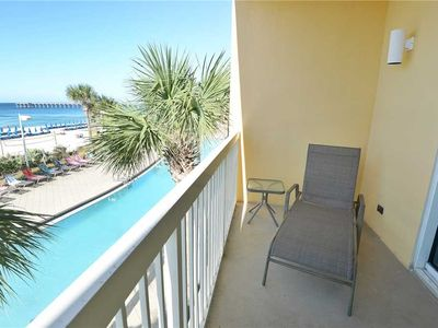 Photo for Calypso 203 East - Tower 1, 1 Bedroom, Sleeps 6, Beachfront, Wi-Fi, Pool