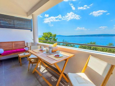 Photo for Holiday apartment Crikvenica for 2 persons with 1 bedroom - Penthouse holiday apartment