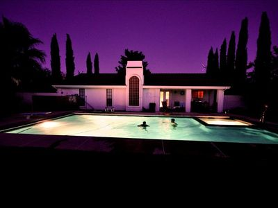 Photo for Home on Quiet Street with a Private Pool and Hot Tub