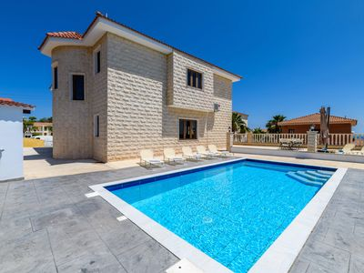 Photo for Mersinia Heights - 4 bedroom villa with private swimming pool