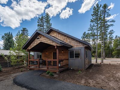 Photo for Montana -New Cabin in Town, Sleeps 4, Just Blocks from Yellowstone National Park