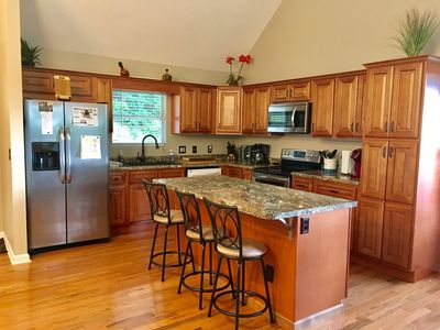 Fully renovated kitchen with  new appliances.