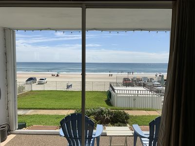 Photo for oceanfront, grd flr, pool, pets,  garage, new listing,, no reviews