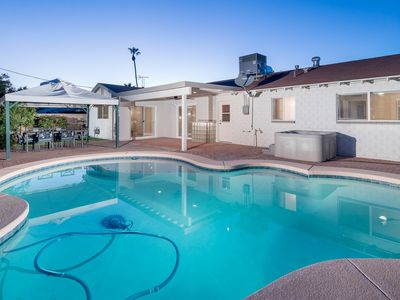 Photo for Spectacular 4 Bed Home in Old Town, Pool and Hot Tub! Immaculately clean!